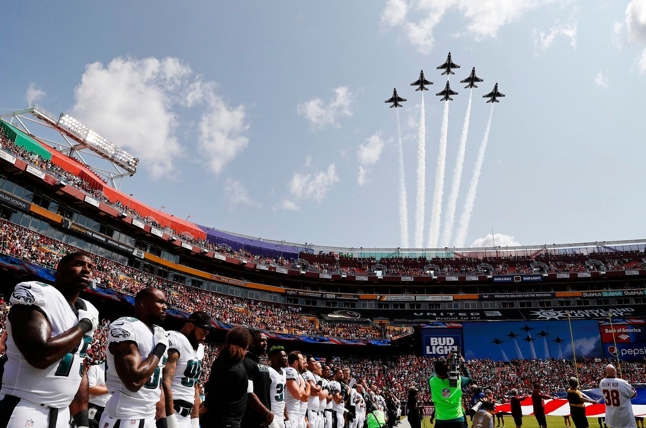 Military Tributes at Sporting Events